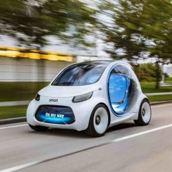 Smart Vision EQ ForTwo. Así será el servicio de car sharing del futuro