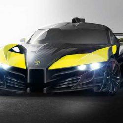 Ariel P40. Un superdeportivo eléctrico de cuatro motores y 1.180 CV de potencia