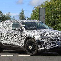 Avistada una unidad de producción del Audi e-tron Quattro. Ligeros cambios en el diseño respecto al prototipo