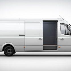 Chanje VAN V8070. Una nueva furgoneta eléctrica de gran capacidad