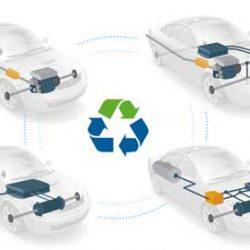 El reciclaje de las baterías será el gran reto de la industria del coche eléctrico