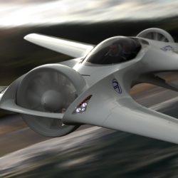 Delorean DR7, un nuevo prototipo de aeronave V-TOL eléctrica para uso privado
