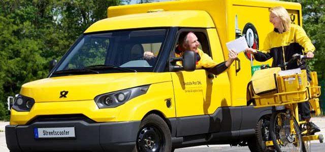 La Deutsche Post ha dado con un filón en la producción de furgonetas eléctricas para el reparto. Hasta 100.000 unidades al año