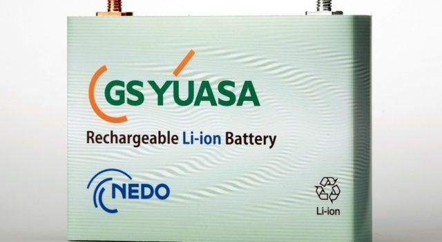 GS Yuasa lanzará una batería con el doble de capacidad que las actuales, y al mismo precio