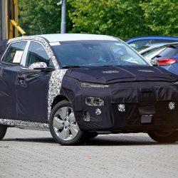Avistado durante unas pruebas el Hyundai Kona eléctrico. Llegada en 2018 con una autonomía de 390 kilómetros