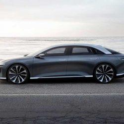 Lucid Motors muestra un nuevo diseño del espectacular Air, que retrasa su llegada al mercado. Faraday Future en cambio enseña su fábrica, y mantiene fechas