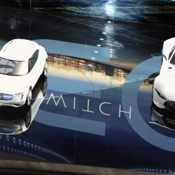 Una foto podría mostrarnos por adelantado el aspecto del Mercedes EQ-A