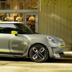 Primeras fotos oficiales del Mini eléctrico que será presentado en Frankfurt
