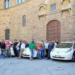 La ciudad de Florencia se vuelca con los taxis eléctricos incorporando 67 Nissan LEAF
