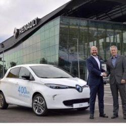 Renault y Ferrovial confirman la puesta en marcha del sistema de car sharing de Madrid. 500 coches y arranque en octubre