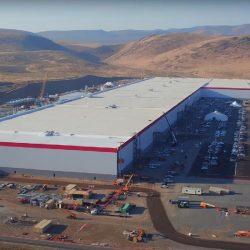 Con el 30% de la construcción completada, la Gigafábrica de Tesla ya es la mayor productora de baterías del mundo