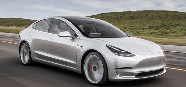 Más detalles del Tesla Model 3. Potencia del motor, batería de hasta 80 kWh