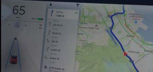 Primer vídeo del Tesla Model 3 con el Autopilot conectado