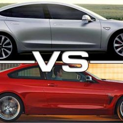 Comparativa Tesla Model 3 contra BMW Serie 3