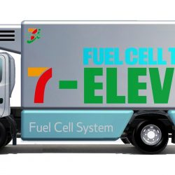 Los supermercados 7-Eleven comprarán camiones a hidrógeno de Toyota