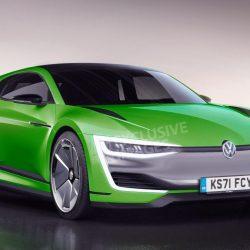 Rumor: Volkswagen está preparando un Scirocco eléctrico. Hasta 300 CV de potencia, y 600 kilómetros de autonomía