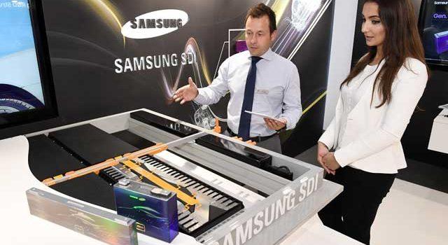 Samsung presenta una nueva batería para coches eléctricos. Más pequeña, mas ligera, más económica y con más capacidad