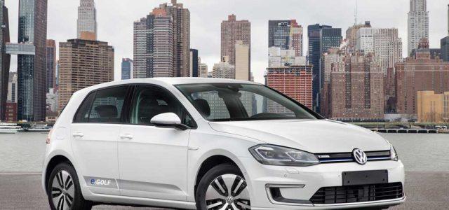 En Alemania ya sale más rentable comprar un Volkswagen e-Golf que un Golf gasolina o diésel