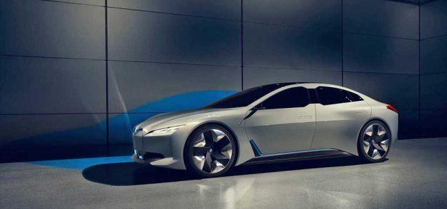 BMW i Vision Dynamics. Una berlina eléctrica con 600 kilómetros de autonomía que llegará en 2021