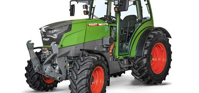 Fendt Vario E100: Un tractor eléctrico con batería de 100 kWh y cargador CCS Combo