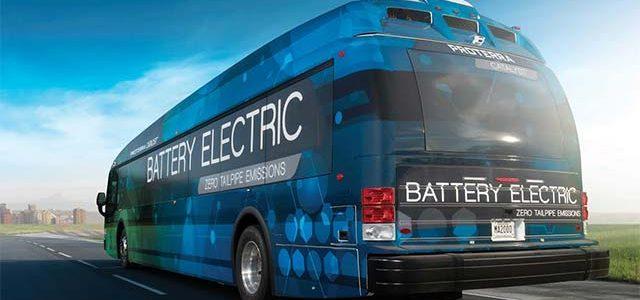 El autobús eléctrico de Proterra recorre 1.772 kilómetros con una sola carga