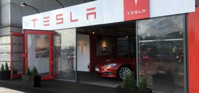 Tesla abre su primera Pop-Up Store en Madrid