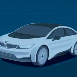 Filtrado el aspecto del coche eléctrico que presentará BMW en Frankfurt. ¿Será el BMW i5?