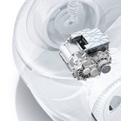 Bosch presenta un nuevo tren motriz eléctrico más compacto y eficiente