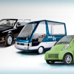 70 años de coches eléctricos de Nissan. Del Tama al BladeGlidder