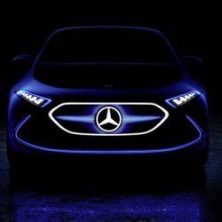 Primer render del Mercedes EQ-A. Presentación en Frankfurt del nuevo eléctrico