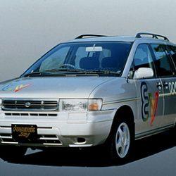 Un poco de historia. Nissan Prairie Joy EV