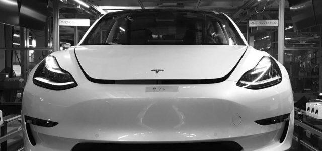 Rumor: Tesla estaría en conversaciones con Magna para la producción del Model 3 en Europa