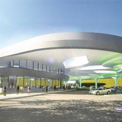 Alemania prepara la estación de recarga de coches eléctricos más grande del mundo. 144 puntos y capacidad para 4.000 coches al día