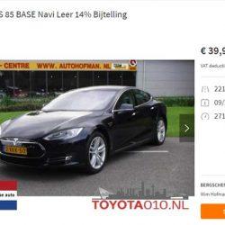 Ya puedes encontrar algún Tesla Model S de ocasión por 40.000 euros