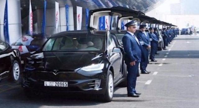 Tesla entrega los primeros 50 Model S y X a la empresa de taxis de Dubai