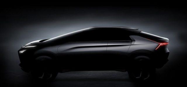 Mitsubishi e-EVOLUTION Concept. Tres motores, 100% eléctrico y con inteligencia artificial