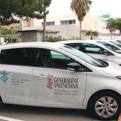 El Hospital General de Valencia se ahorra 11.500 euros al año gracias a los coches eléctricos