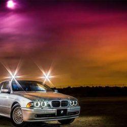 Un BMW Serie 5 convertido con una batería de 133 kWh, y con 1.200 kms de autonomía