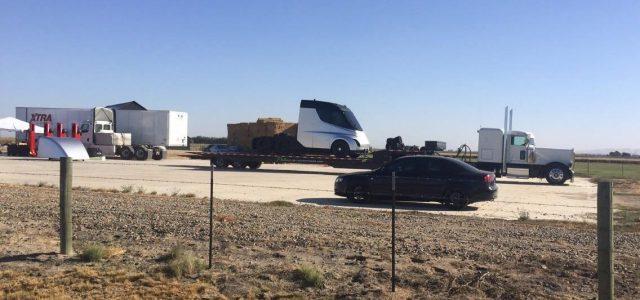 Avistado por primera vez el camión eléctrico de Tesla