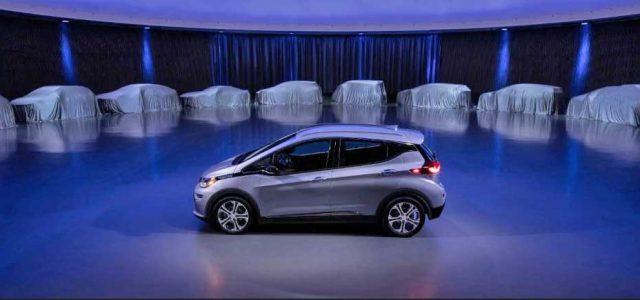 General Motors anuncia que lanzará dos nuevos coches eléctricos en 18 meses, y 20 nuevos modelos hasta 2023