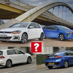 Comparativa: Hyundai IONIQ Plug-in contra Volkswagen Golf GTE