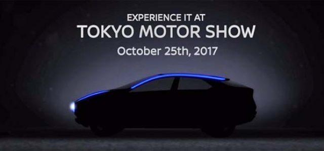 Primer render del todocamino eléctrico que presentará Nissan en Tokio
