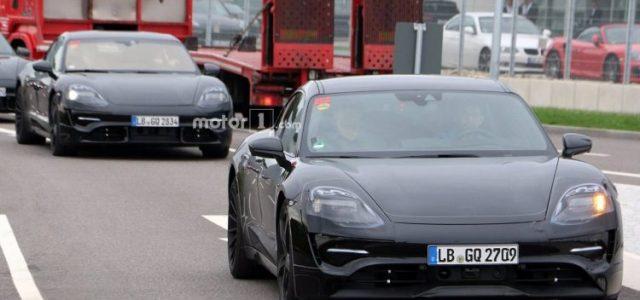 Fotos del Porsche Mission E durante unas pruebas. ¿El primer verdadero rival para el Tesla Model S?