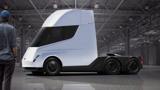 camion electrico Tesla