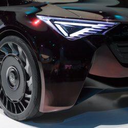Toyota prueba con ruedas sin aire para reducir el consumo de los coches eléctricos