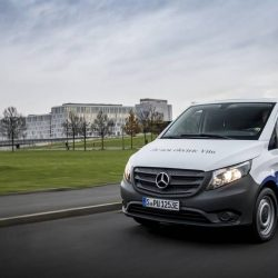 Mercedes fabricará 400 unidades de la furgoneta eVito durante este año