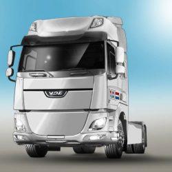 VDL presentará su primer camión eléctrico en 2018, basándose en un modelo DAF