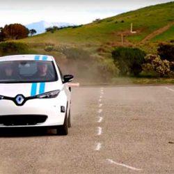 Renault nos muestra un ZOE autónomo capaz de esquivar obstáculos