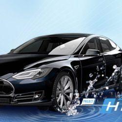 Hesla, el Tesla Model S convertido a hidrógeno con 1.000 km de autonomía
