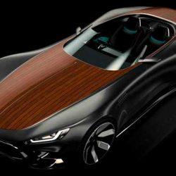 Hydra Concept, el deportivo eléctrico que recupera la madera para la carrocería